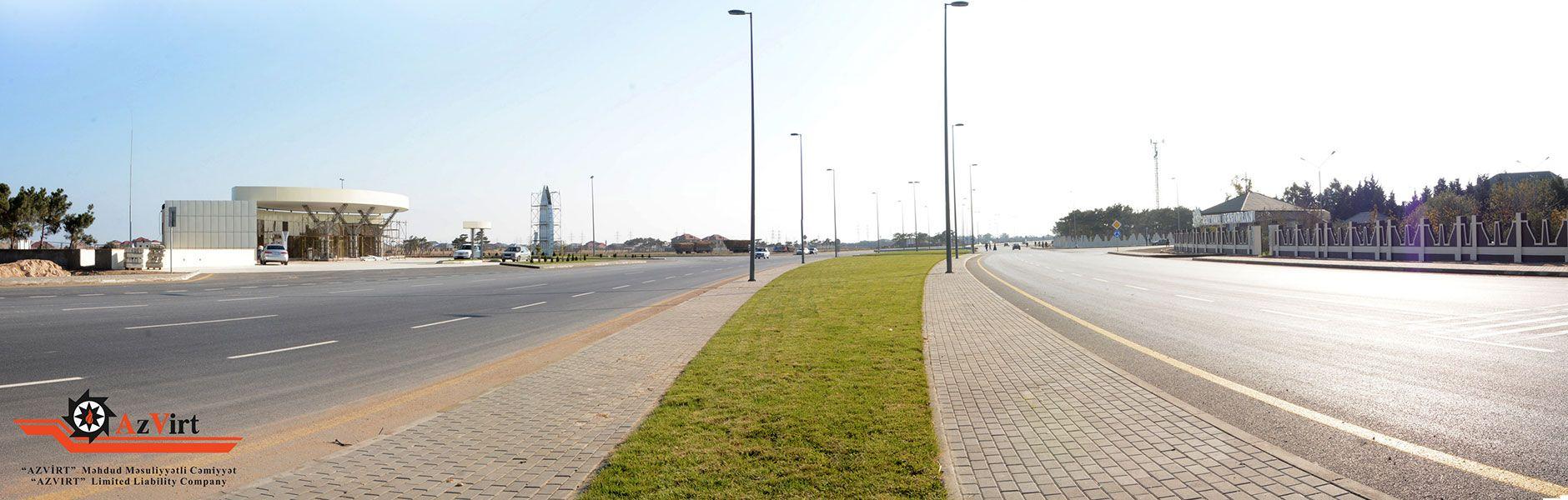 Reconstruction of Gala-Pirallahi motorways from 24+00 km of Baku city, Heydar Aliyev International Airport – Mardakan – Bilgah motorway