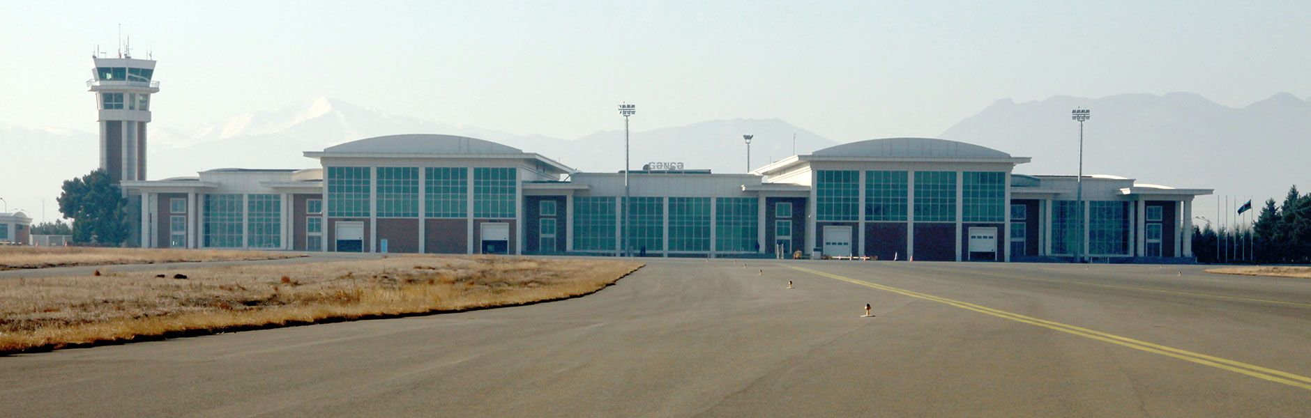 Reconstruction of runway, apron, taxiways and entrance road of Ganaja International Airport