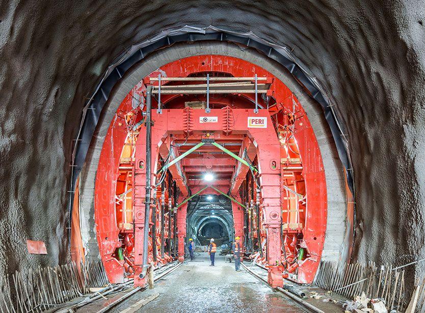 Cortanovci dəmir yolu tunelinin tikintisi, Serbiya Respublikası